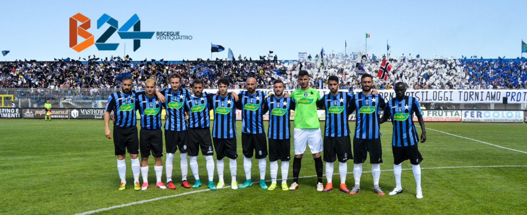 Poule Scudetto Serie D: Bisceglie Calcio organizza volo charter per i tifosi