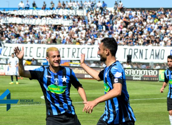 Bisceglie calcio, l'avventura nella poule scudetto parte da Arzachena