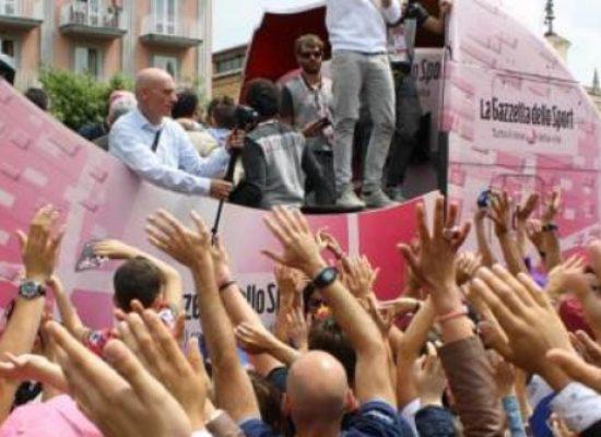 Giro d'Italia, la carovana rosa sosterà a Bisceglie