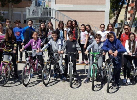 """Ciclismo: ottimo riscontro per il progetto della Cavallaro, """"Cicloamici per sempre"""""""
