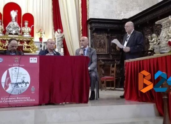"""""""X Cammino delle Confraternite delle Diocesi di Puglia"""", la presentazione in Cattedrale"""