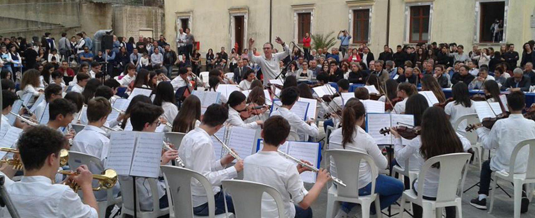 """Concorso """"Giovani Promesse"""", primo premio assoluto per l'orchestra della Monterisi"""