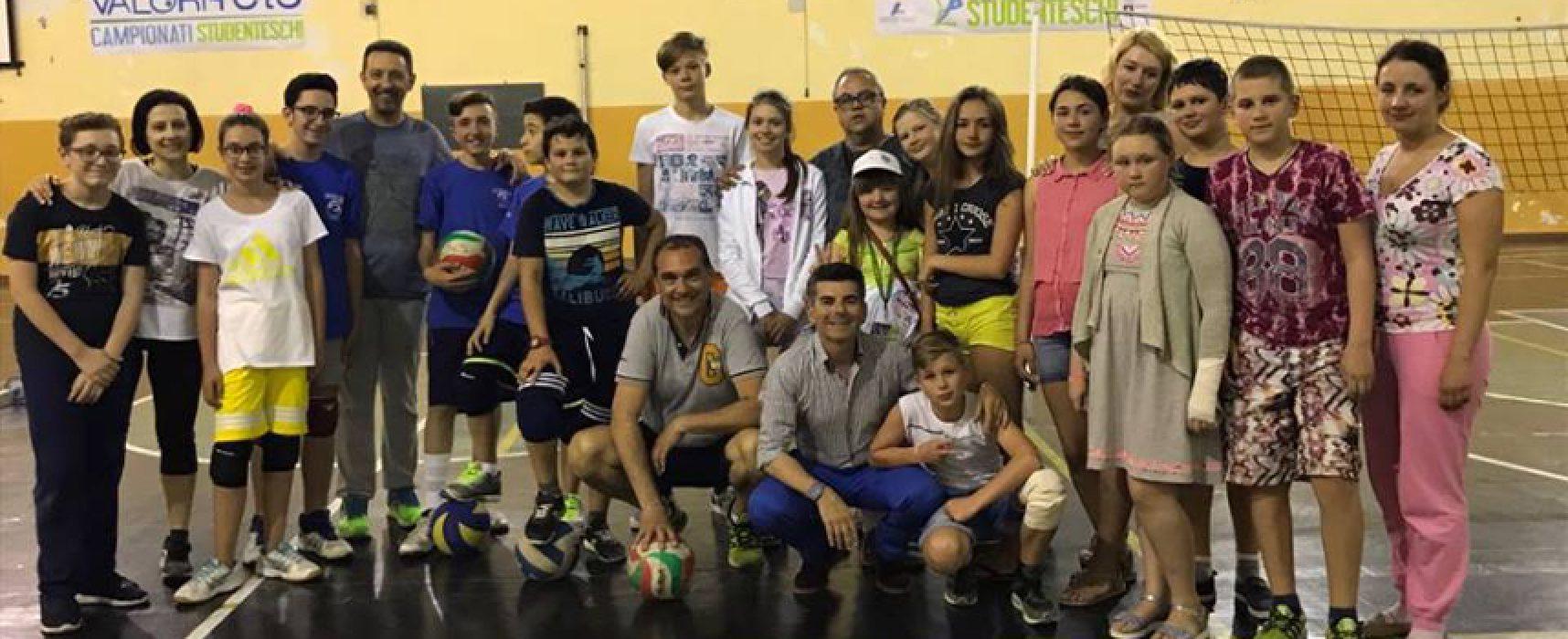 Sport, benessere e accoglienza: Sportilia Volley accoglie bimbi bielorussi