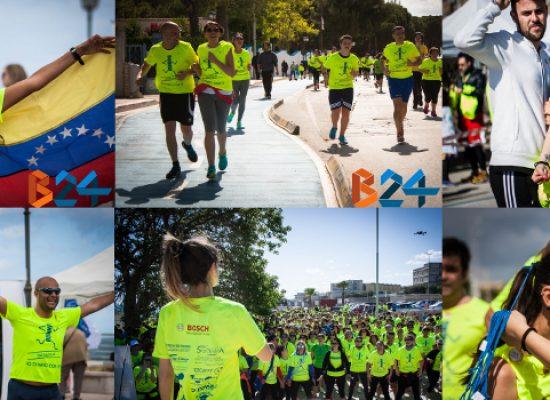 """In milleduecento colorano il lungomare di Bisceglie grazie a """"Io corro con te"""" / PHOTOGALLERY"""