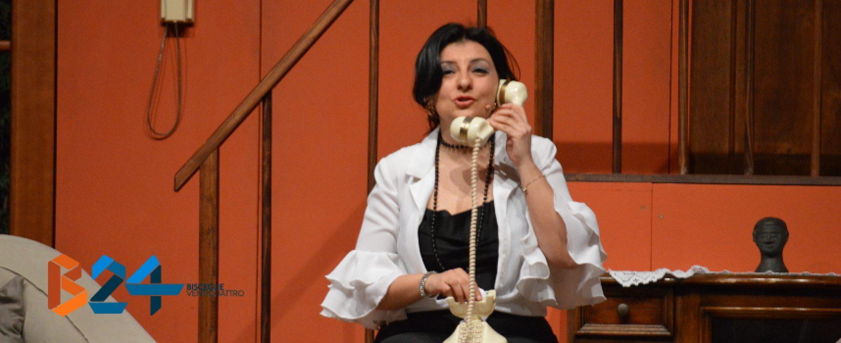 """Compagnia dei Teatranti, Lella Mastrapasqua vince premio """"Miglior attrice"""" a Rotonda"""