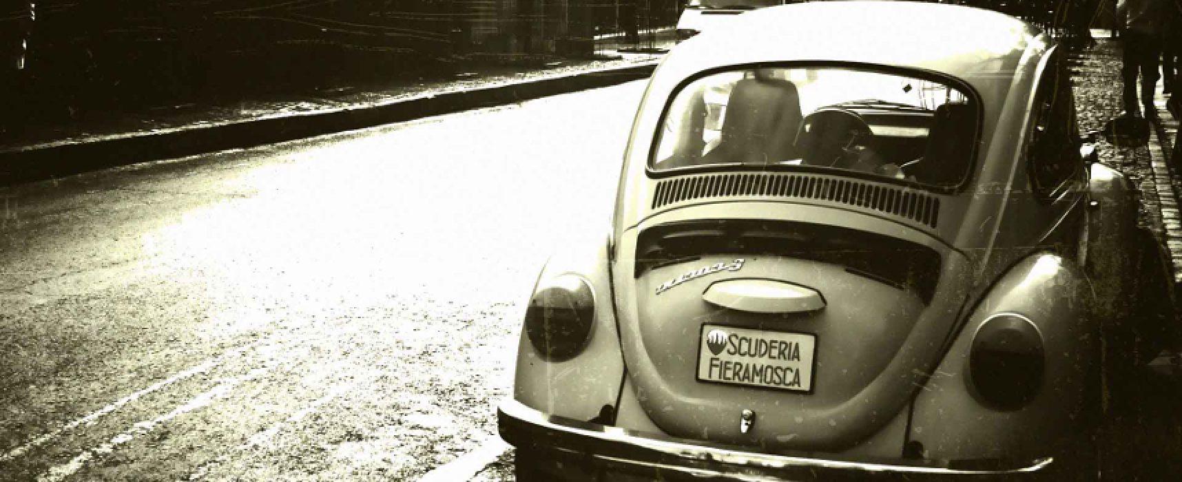 Domenica anche a Bisceglie la passeggiata delle auto storiche della Scuderia Fieramosca