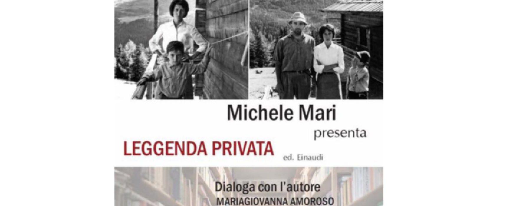 """Stasera Michele Mari presenta il suo """"Leggenda privata"""" alle Vecchie Segherie Mastrototaro"""