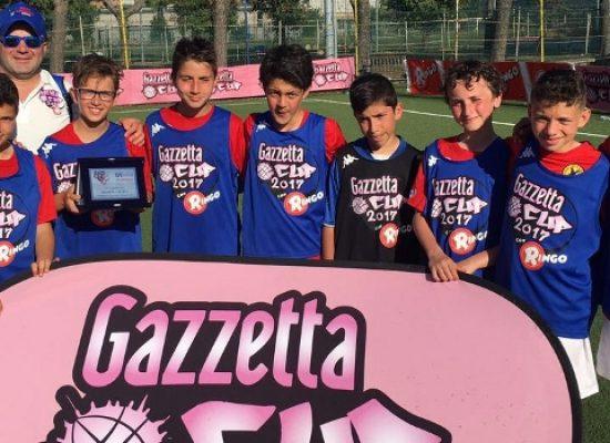 Il Real Bisceglie conquista il secondo posto regionale nella Gazzetta Cup 2017 / FOTO