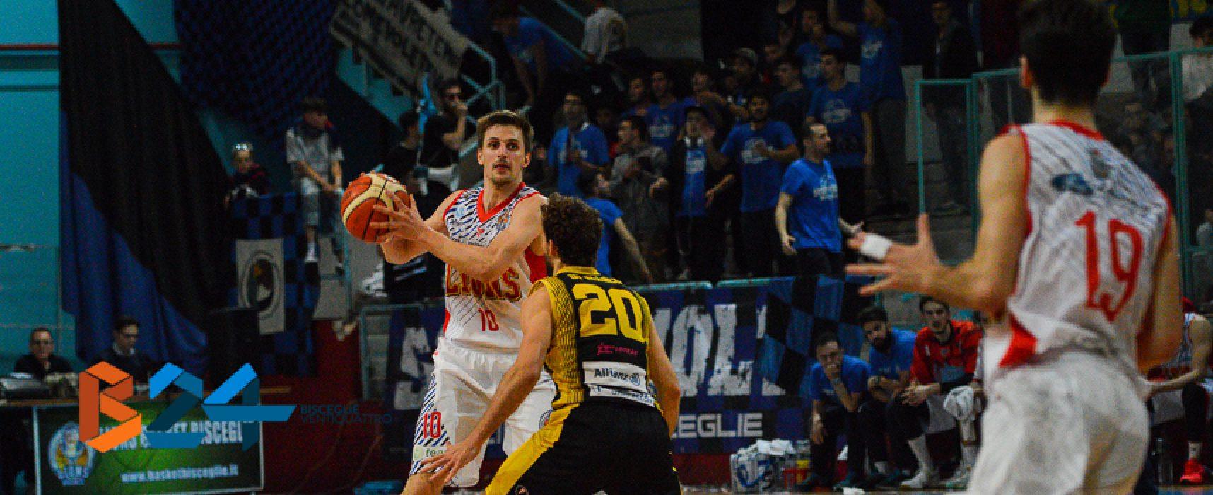 Lions basket, gara 2 con Palestrina in cerca del riscatto