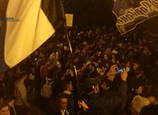 Il Bisceglie ha in pugno la Lega Pro, le immagini della festa al calvario / VIDEO