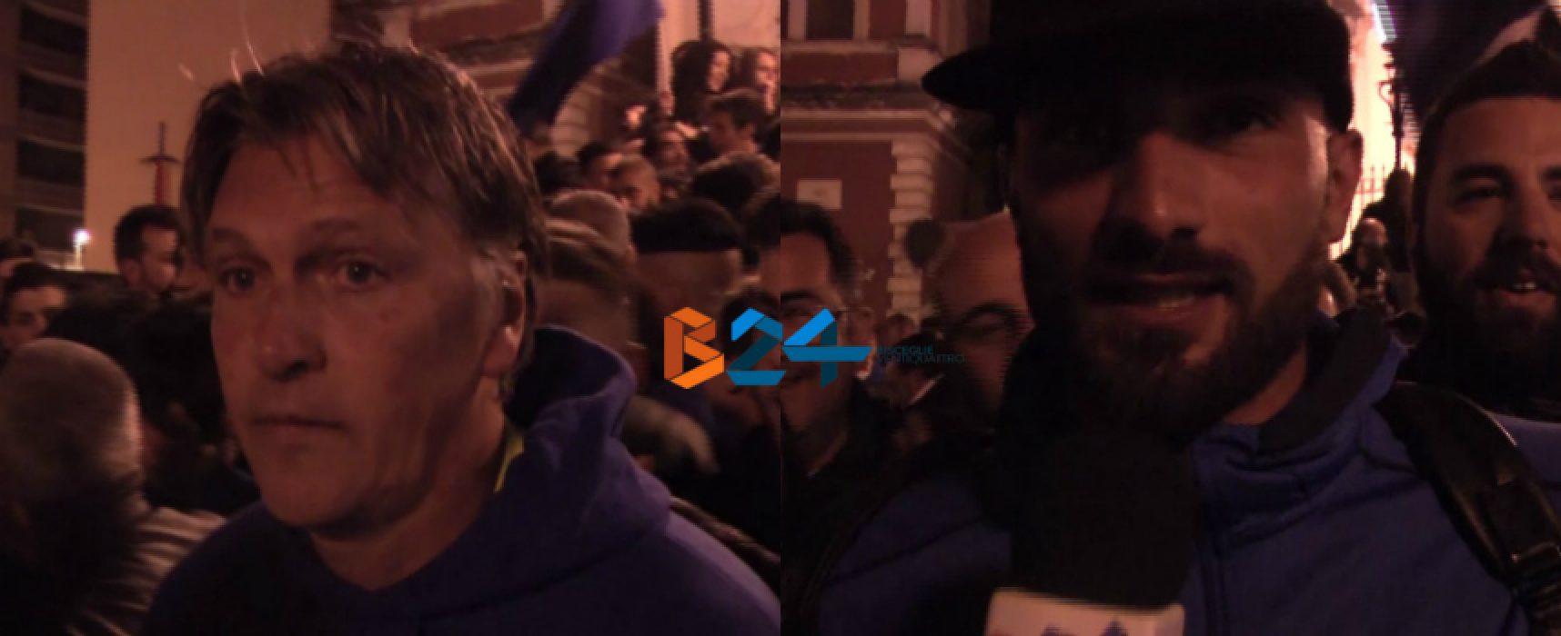 Festa al calvario per il Bisceglie Calcio: interviste a Canonico, Ragno e Petta / VIDEO