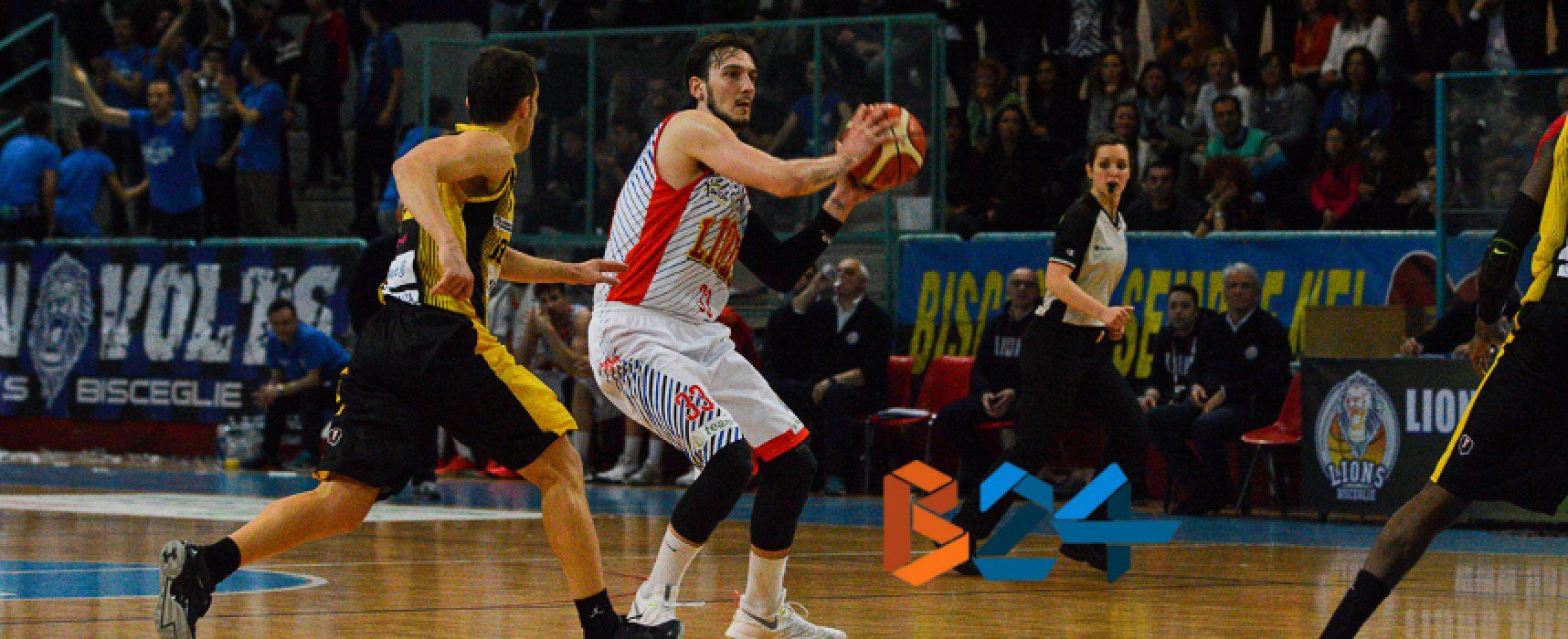 I Lions basket espugnano il Palaiaia di Palestrina e portano a casa gara 3