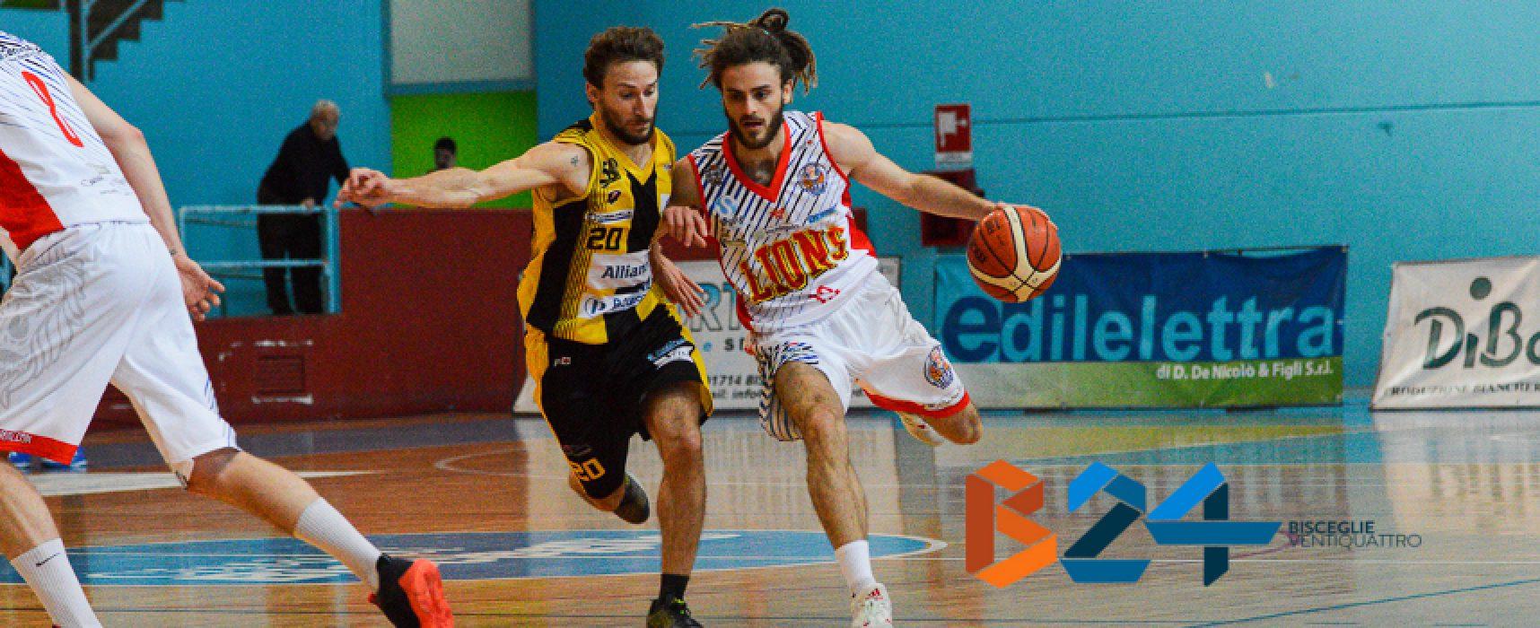 Playoff Lions basket, tutto pronto per la prima difficile trasferta di Palestrina