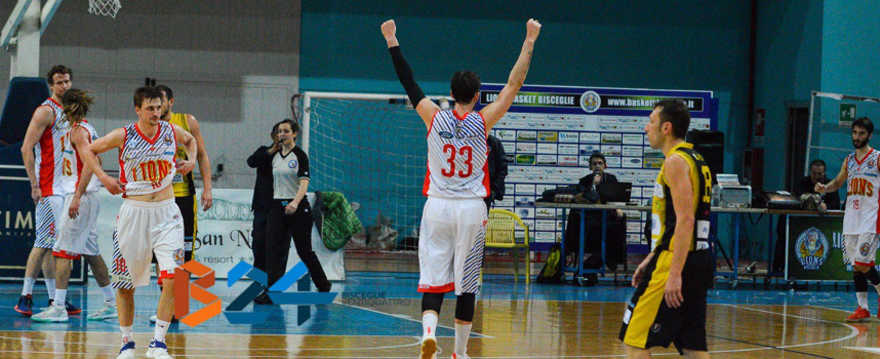 I Lions basket espugnano Roma e accedono alle semifinali playoff