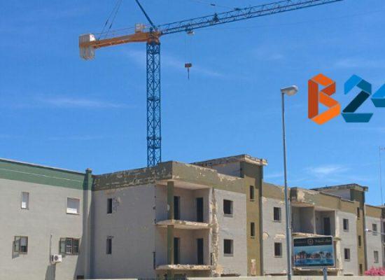 """Cantiere tra via Carrara Reddito e via Vecchia Corato, Bisceglie 5 Stelle: """"Gru a rischio crollo"""""""