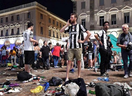 """""""Abbiamo avuto paura di morire"""", le drammatiche testimonianze di 2 juventini biscegliesi a Torino"""