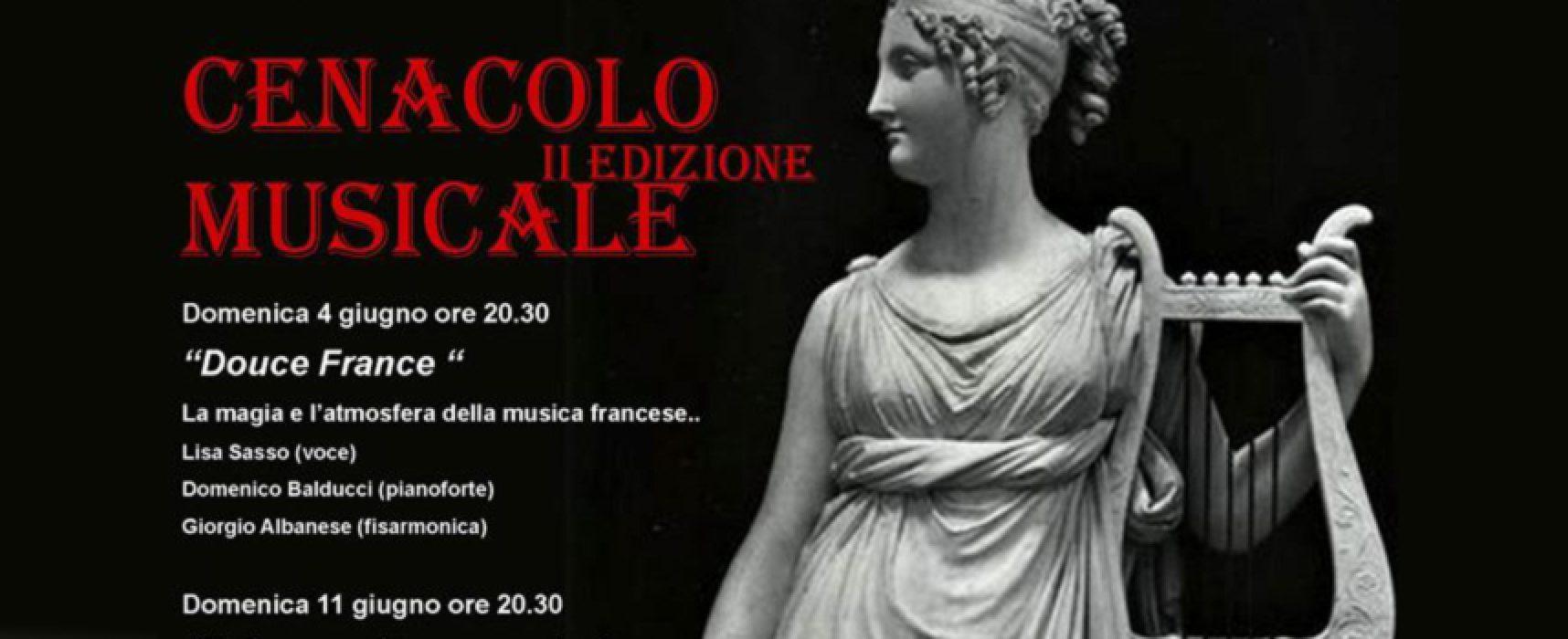 """La Nuova Accademia Orfeo presenta la seconda edizione della rassegna """"Cenacolo musicale"""""""