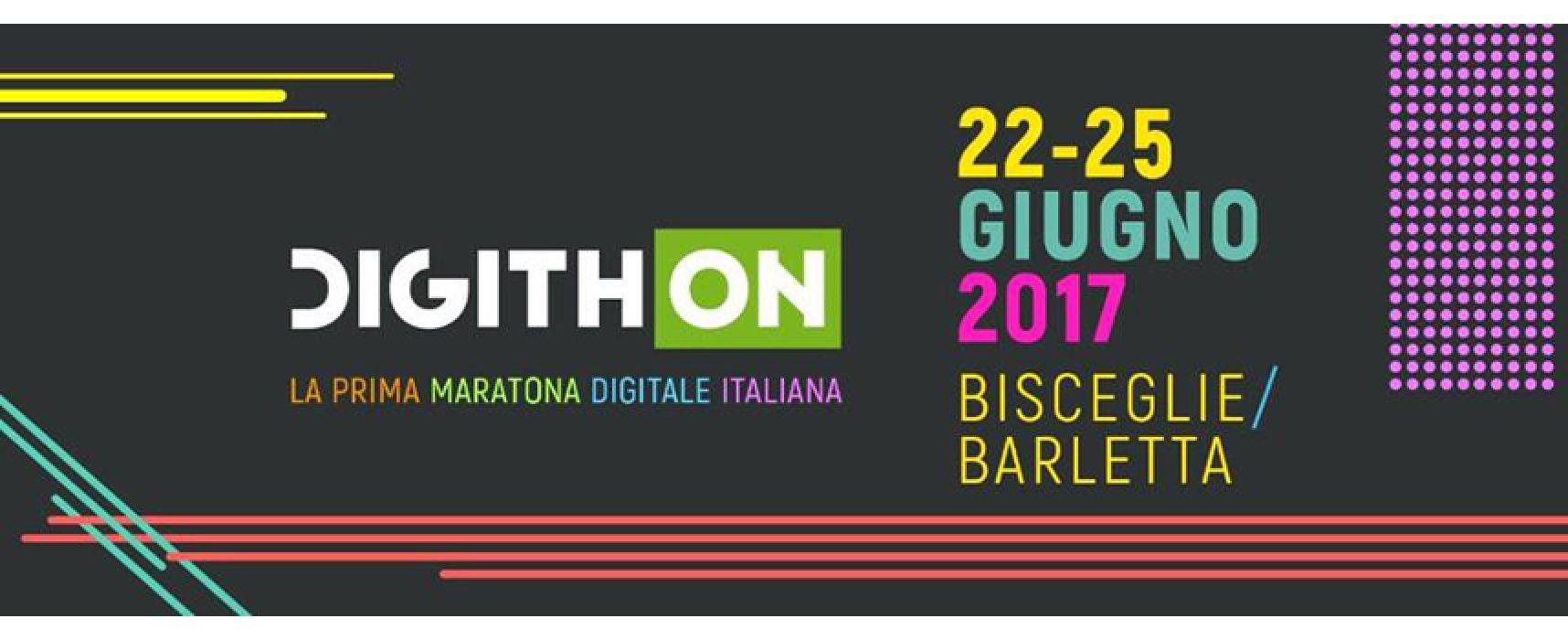 """Bisceglie e Barletta pronte ad accogliere la maratona """"DigithON"""", dieci le startup biscegliesi finaliste"""
