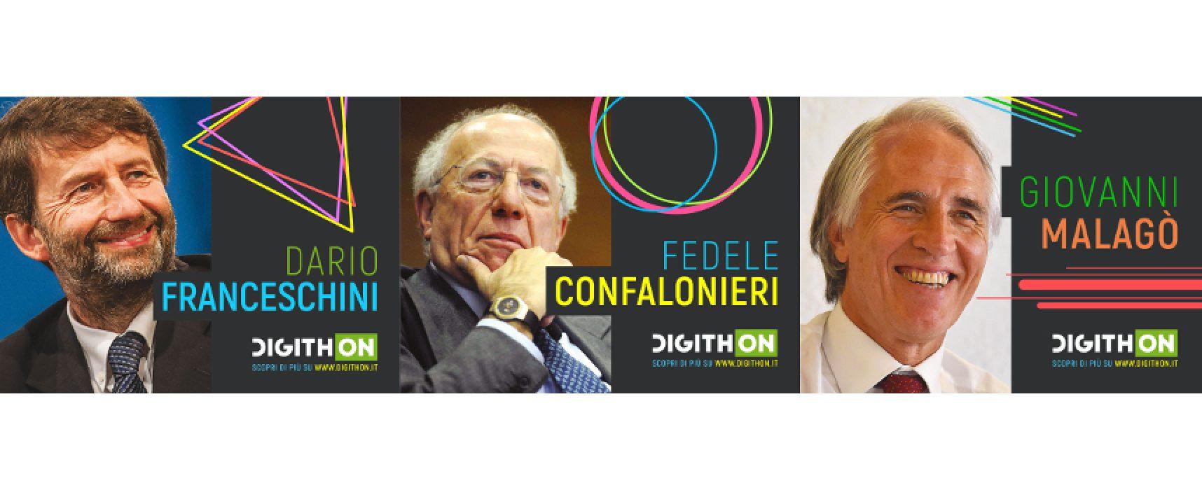 Oggi è il giorno di DigithON: Franceschini, Confalonieri e Malagò i primi ospiti della II edizione