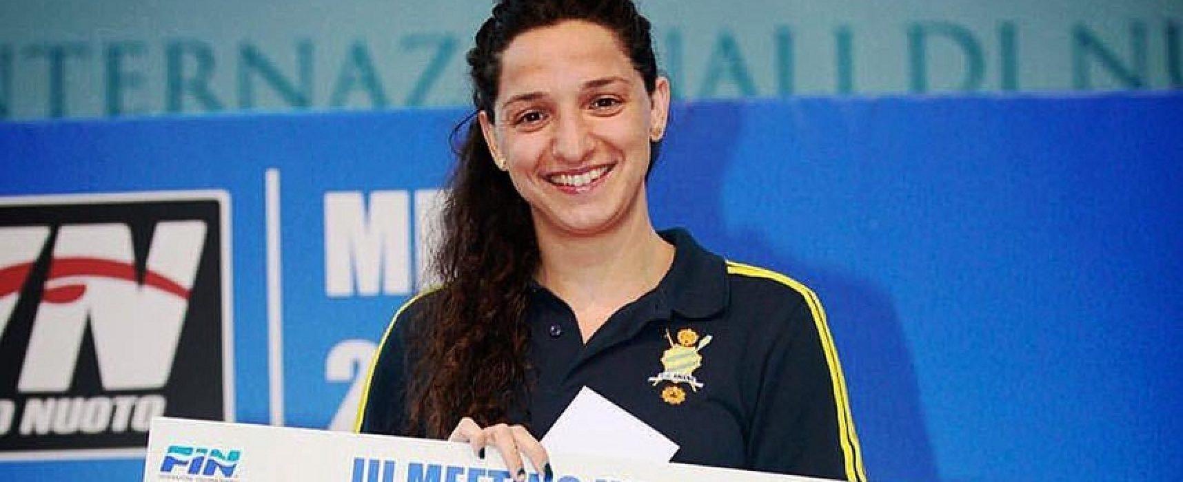 Nuoto, Elena Di Liddo trionfa nei 100 farfalla al Meeting di Roma