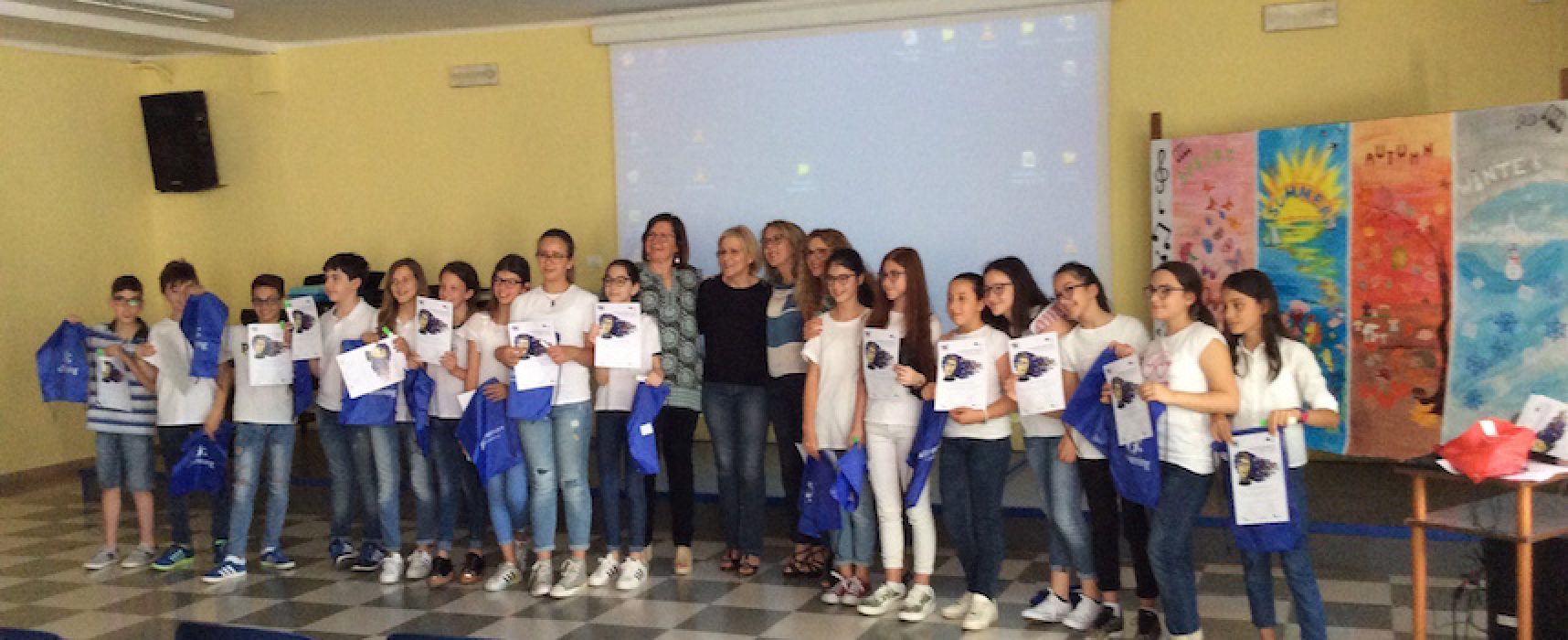 La scuola Monterisi chiude l'anno scolastico in bellezza con ennesimo riconoscimento europeo