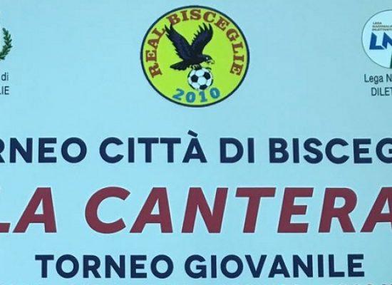 """Domenica in scena la quinta edizione del torneo giovanile Città di Bisceglie """"La Cantera"""""""