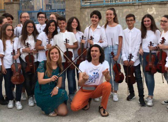 """Gran finale d'anno scolastico in musica alla scuola media """"Riccardo Monterisi"""" / FOTO"""