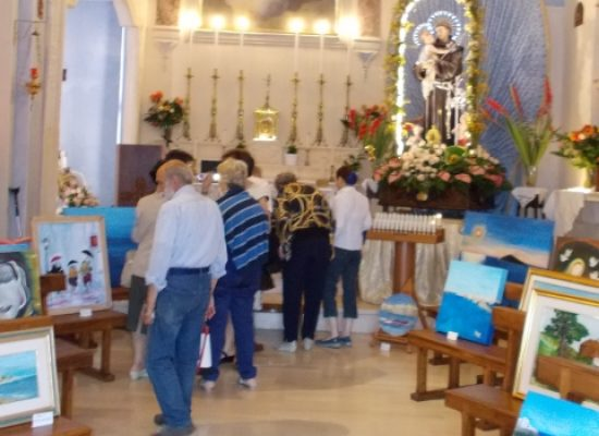 L'associazione Anteas apre al pubblico una mostra di elaborati artistici