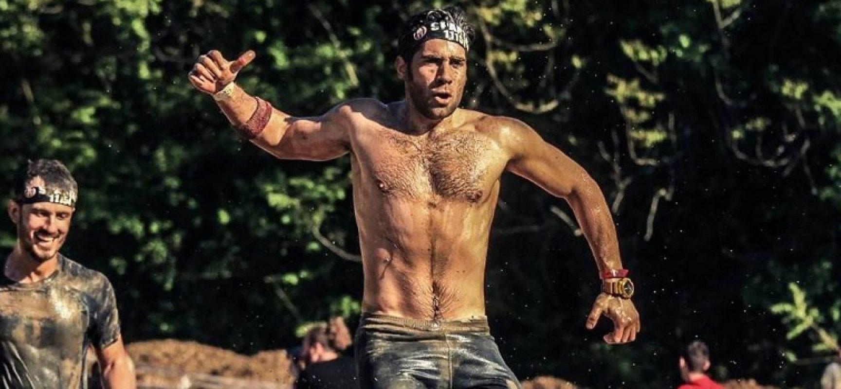 """L'esperienza del biscegliese Gianvito Porcelli alla """"Spartan Race"""" di Orte / FOTO"""