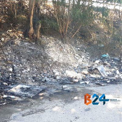 Abbandono e incendio rifiuti in città, DifendiAmo Bisceglie presenta esposto