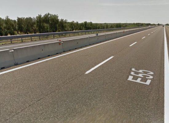 A14 chiusa tra Molfetta e Trani per un incidente all'altezza di Bisceglie