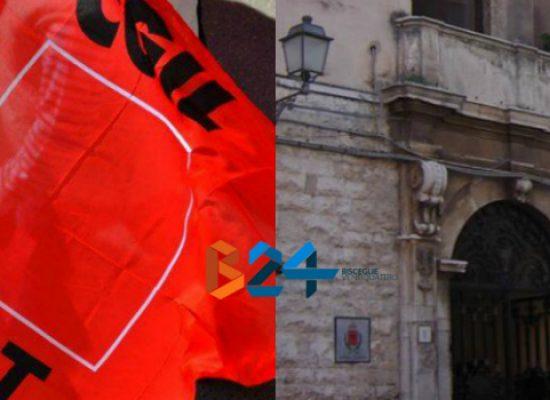 La Cgil Bat annuncia una vertenza sindacale nei confronti del comune di Bisceglie