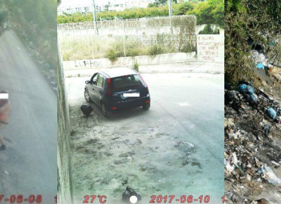 Abbandono rifiuti, diffuse le prime immagini degli sporcaccioni / FOTO