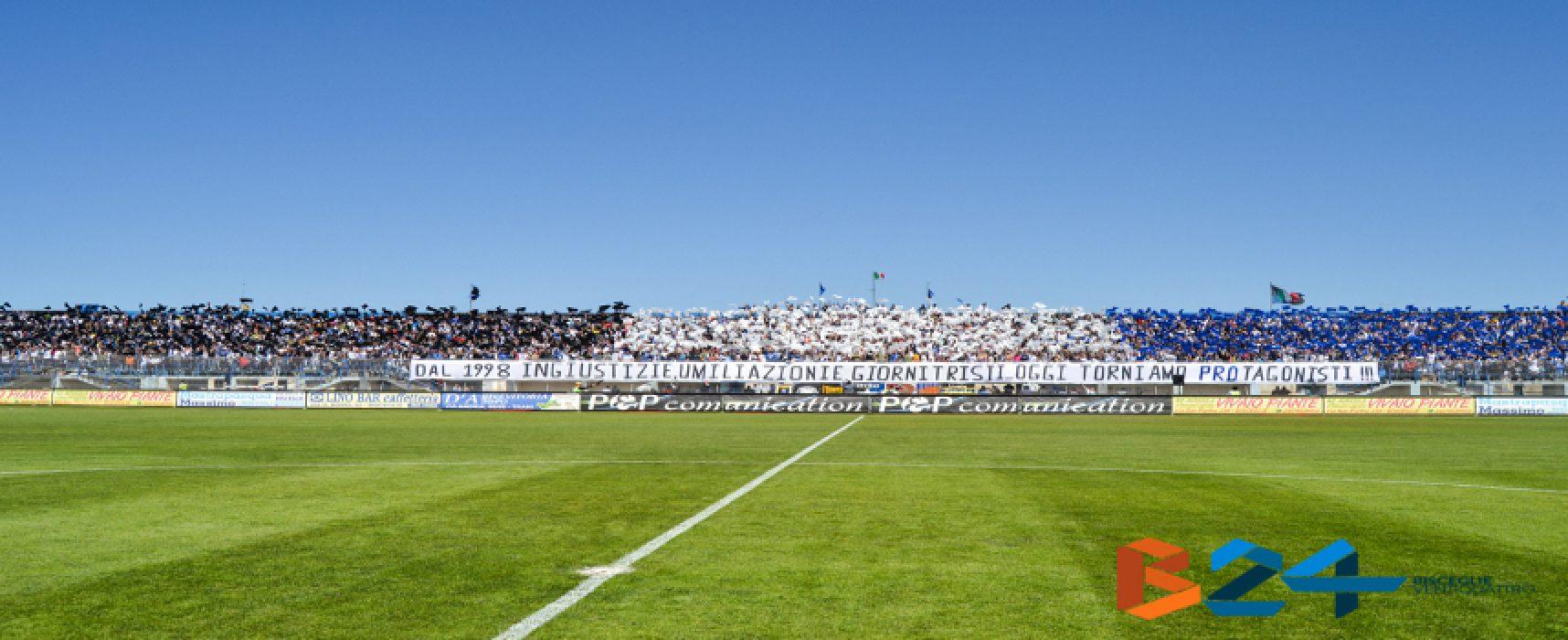 """Ufficiale: Bisceglie-Sicula Leonzio si giocherà al """"Degli Ulivi"""" di Andria"""