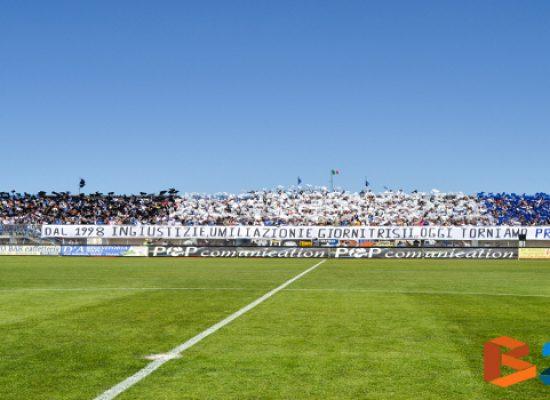Bisceglie-Lecce si cambia decisione, trasferta vietata ai tifosi giallorossi