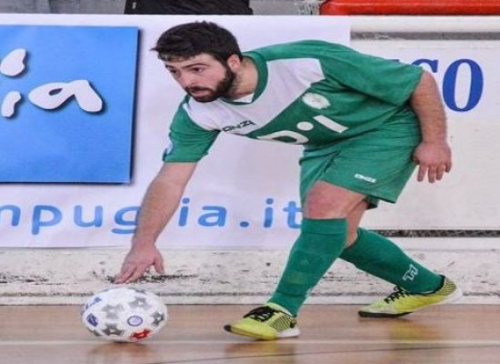 Domenico Binetti è il primo tassello italiano del nuovo Futsal Bisceglie