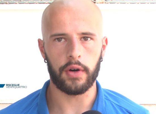 Primo giorno di scuola per il Bisceglie Calcio, interviste a Vassallo e Giron / VIDEO