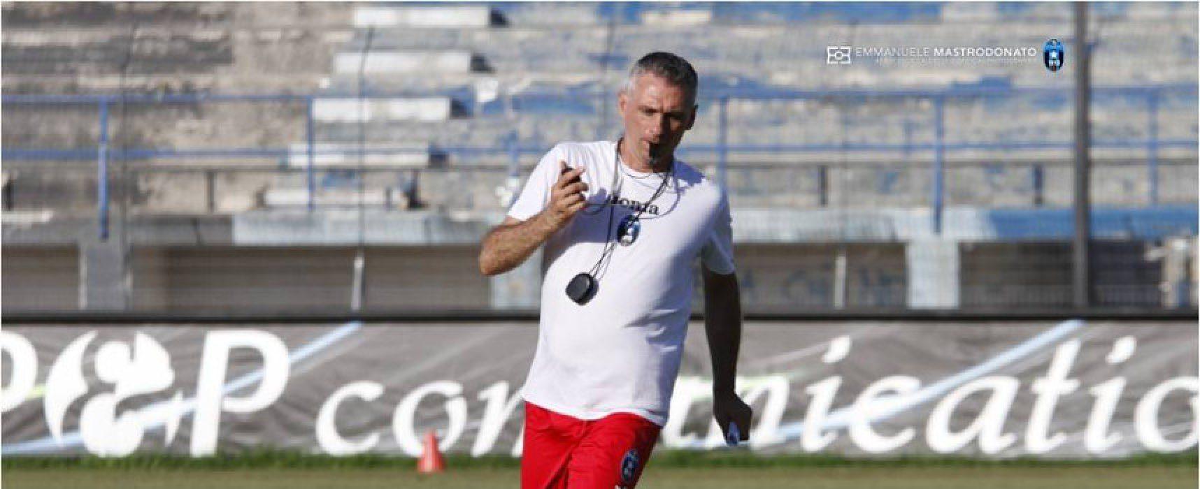 """Bisceglie Calcio, mister Losacco: """"I ragazzi stanno rispondendo bene al lavoro"""""""