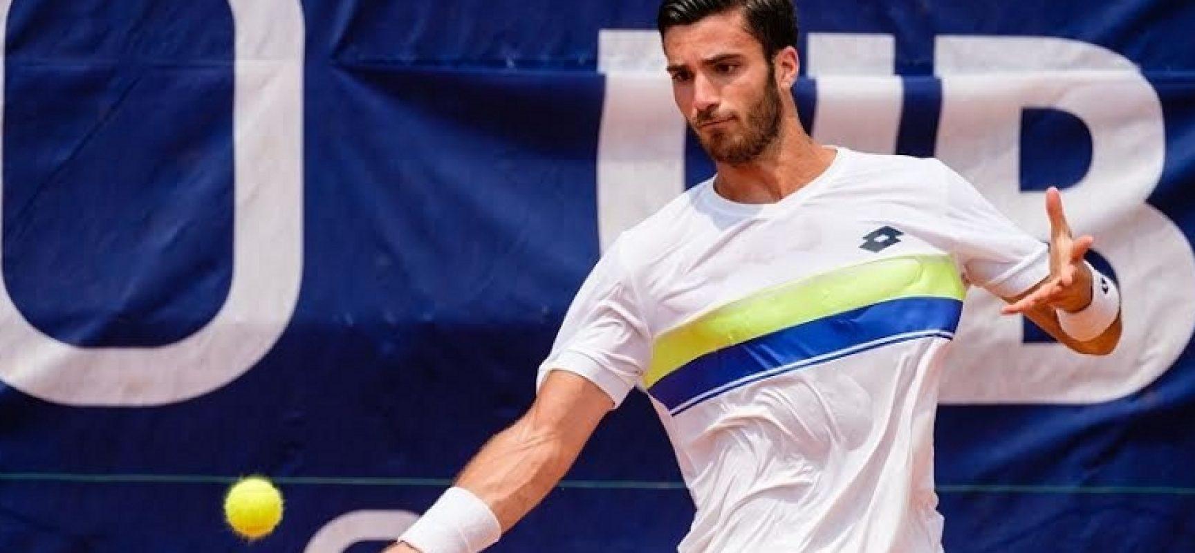 """Tennis, Andrea Pellegrino approda in finale al """"Futures"""" di Santa Margherita Di Pula"""