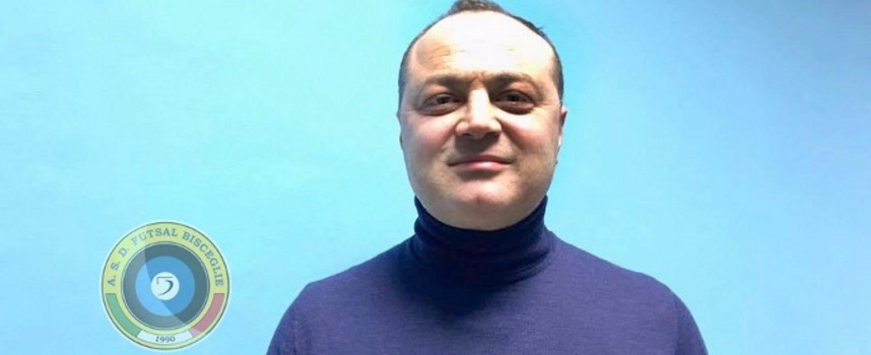 Ruggiero Passero è il nuovo direttore sportivo del Futsal Bisceglie