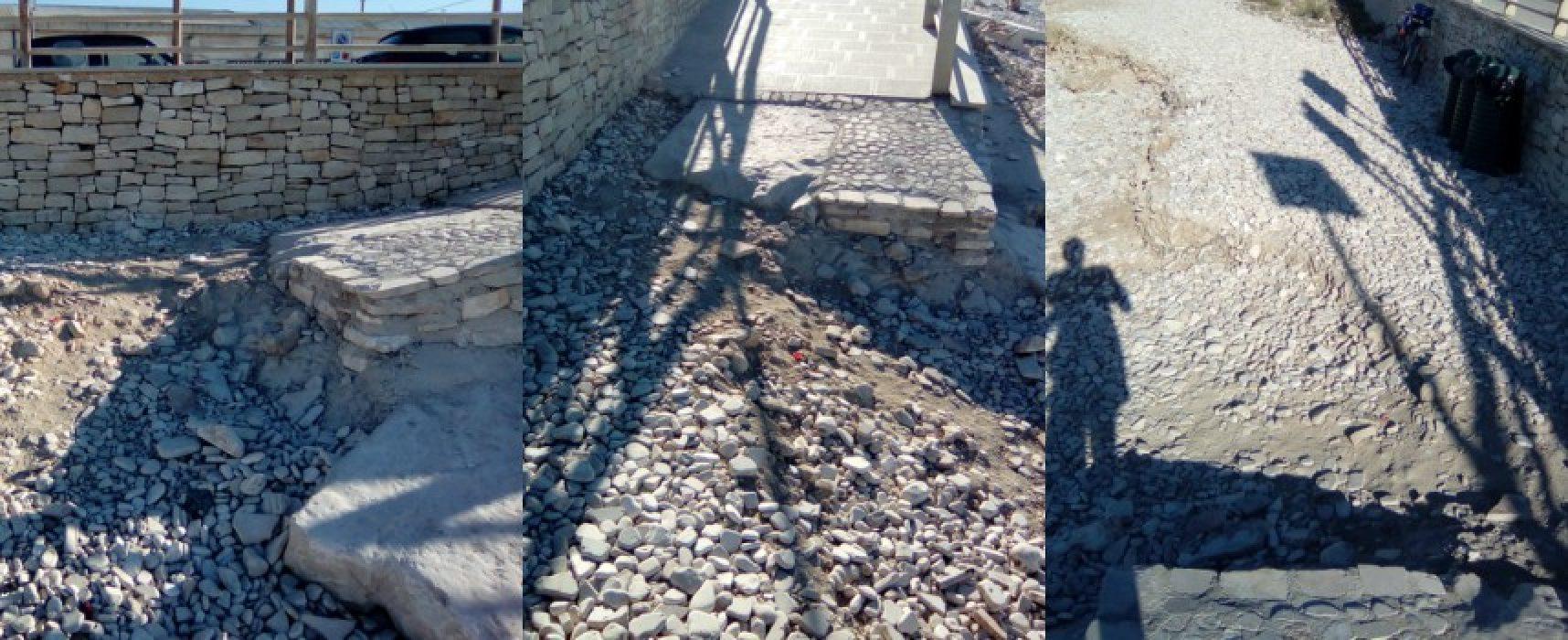 """Rampa spiaggia Bimarmi di nuovo rotta, lo sfogo di una disabile: """"Una porcheria"""""""