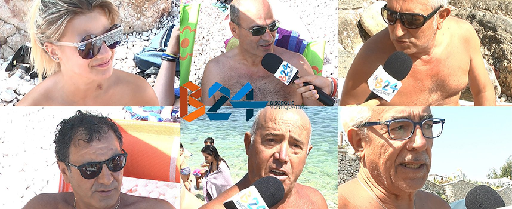 Spiagge biscegliesi, cosa ne pensano i bagnanti? / VIDEO