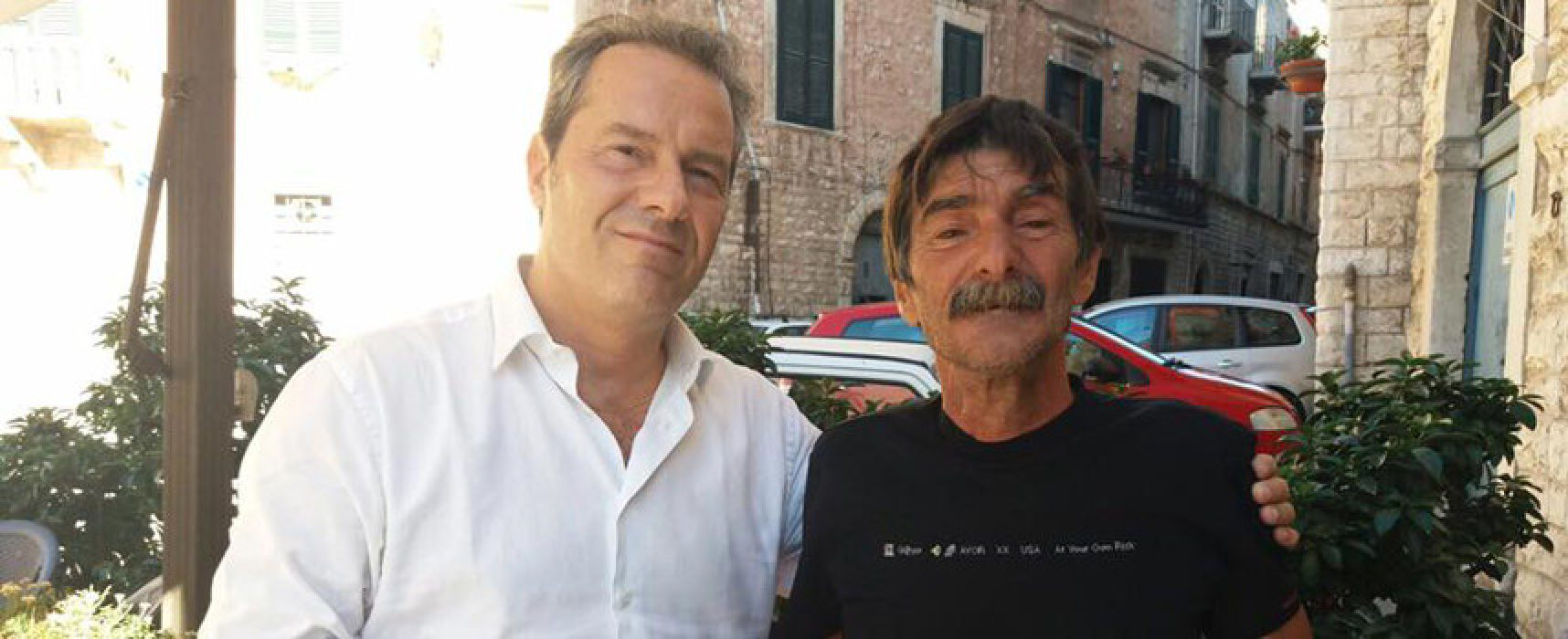 Incidente bici-auto, Spina incontra padre del ciclista