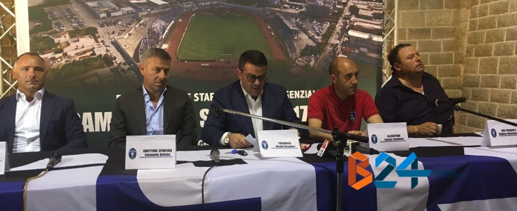 """Bisceglie Calcio, Zavettieri: """"Convinto della mia scelta; garantisco impegno e serietà"""""""