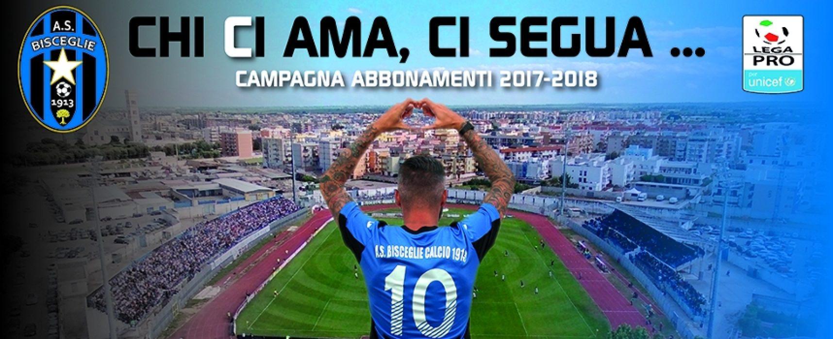 Bisceglie Calcio, presentata la campagna abbonamenti per il campionato di serie C