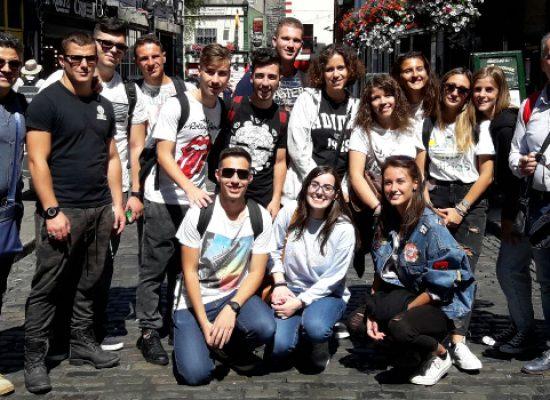 """Istituto """"Dell'Olio"""", partito lo stage a Dublino per quindici neodiplomati"""