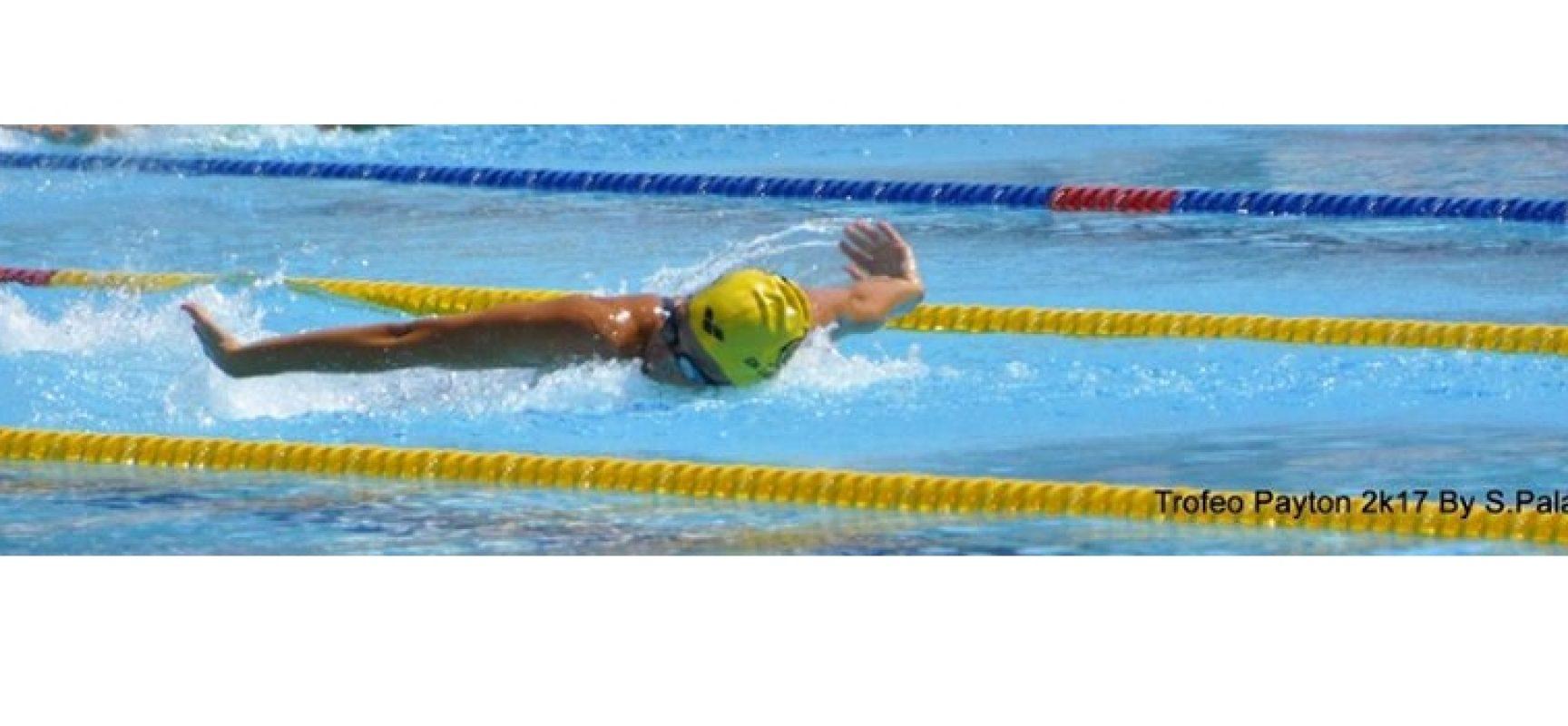 """Nuoto, Elena Di Liddo conquista tre successi al """"Trofeo Payton"""""""