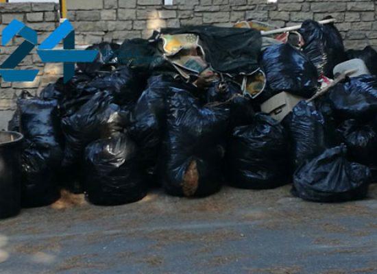 Viale Ponte Lama: nuova catasta di rifiuti a tempo di record dopo la pulizia