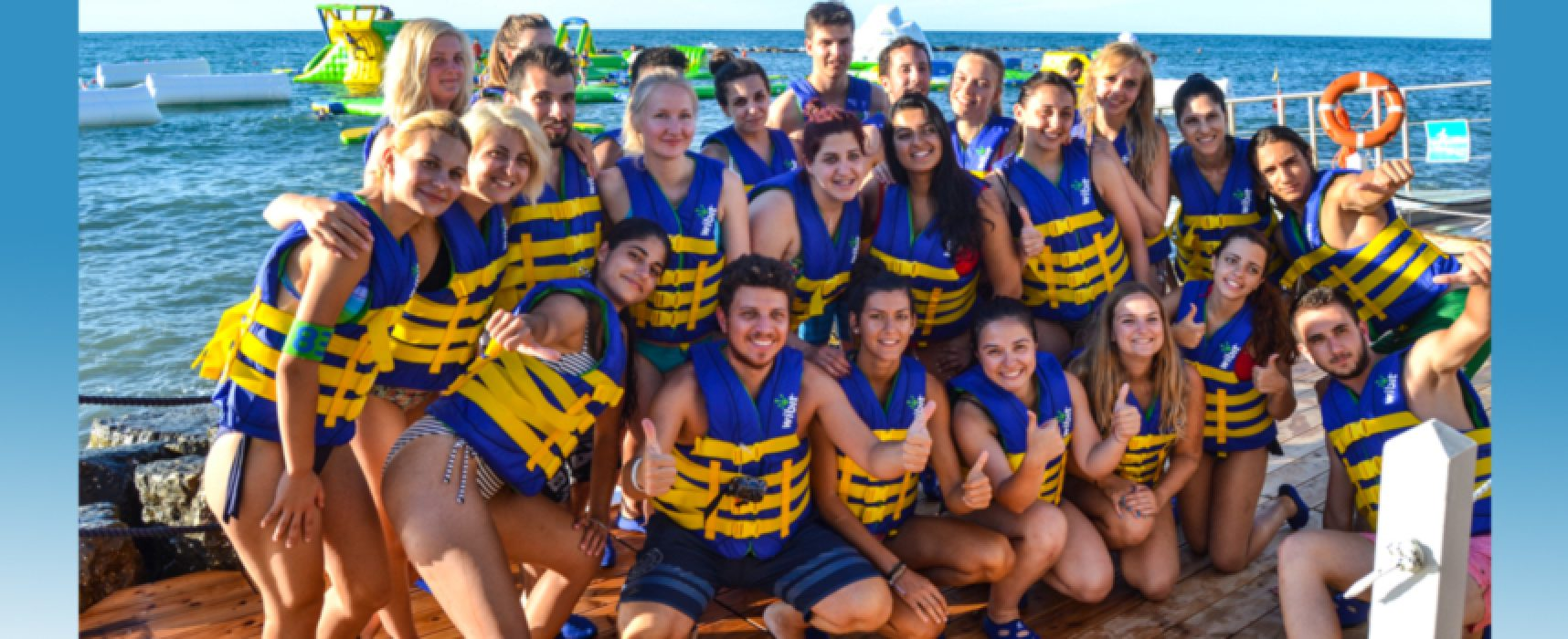 Summer University, ragazzi a Bisceglie: inizio sprint a Splash Sea / VIDEO e FOTO