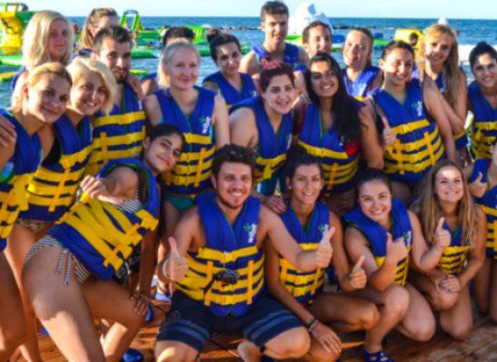 Summer University, ragazzi a Bisceglie: inizio sprint a Splash Sea / VIDEO e FOTO